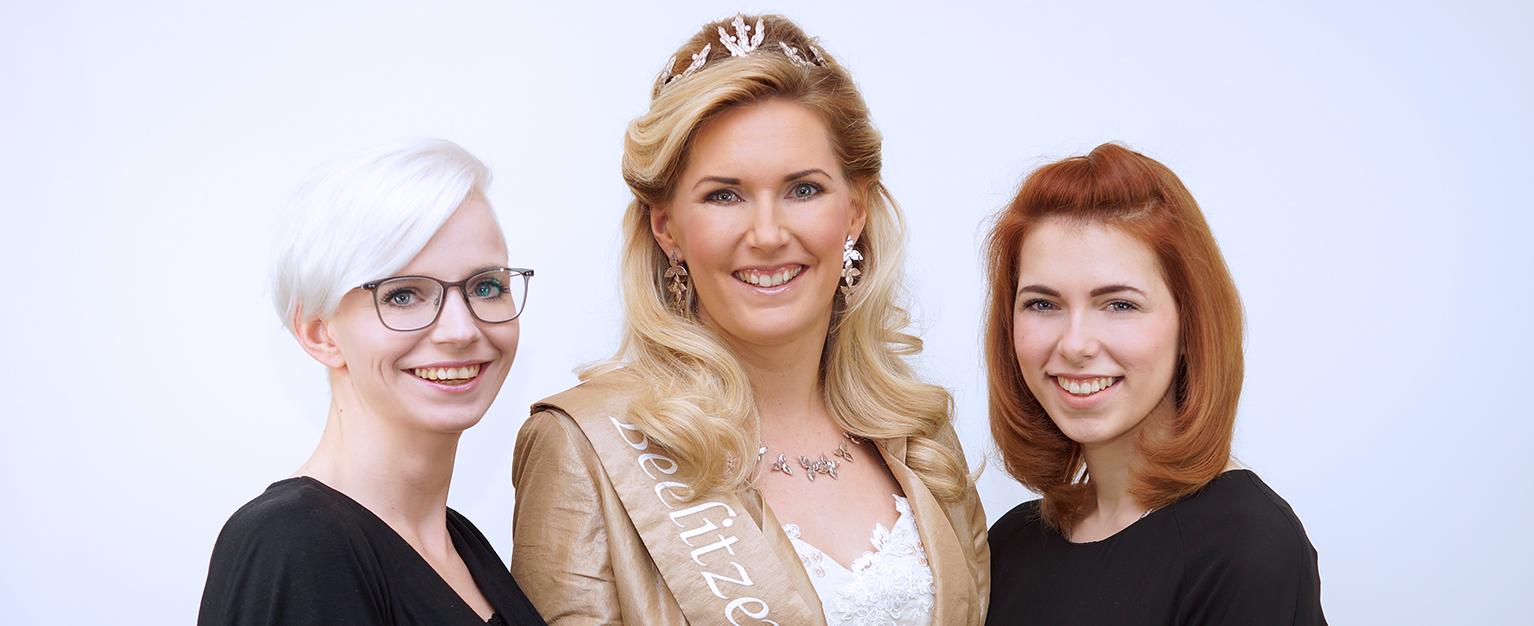 Stylisten der Spargelkönigin 2017