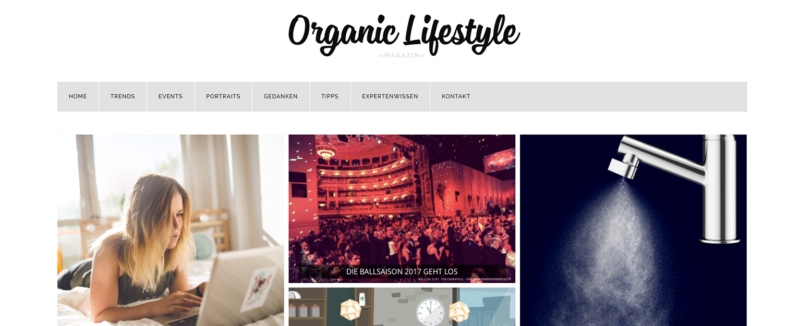Organic Lifestyle Magazin